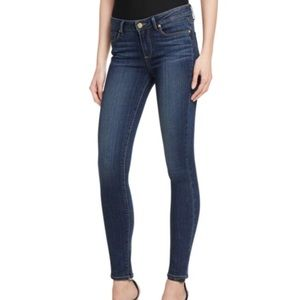 Anthropologie Paige Skyline Skinny in dark wash